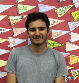 BPUSD_SVHS_DELL_SCHOLAR_1: Sierra Vista High School senior Alejandro Flores was among 500 students across the nation selected as Dell Scholars for 2018, earning a $20,000 scholarship to complete his post-secondary education.