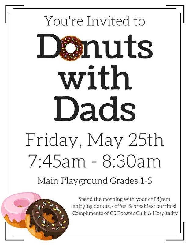 Coming Soon - DONUTS with DADS! Thumbnail Image