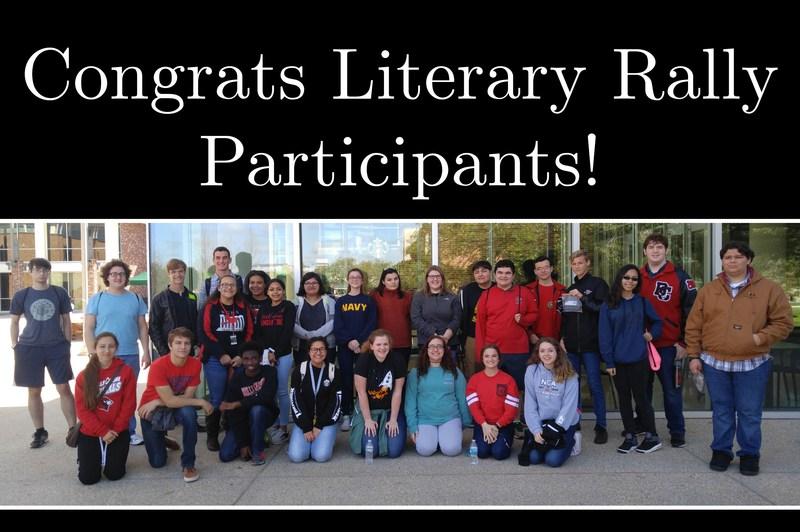 BCHS Wins Big At Literary Rally Thumbnail Image