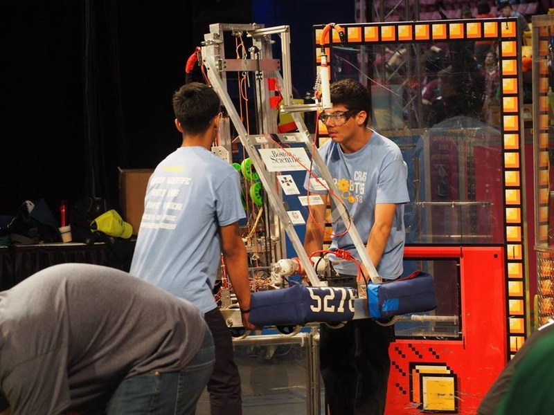Cristo Rey Jesuit Students Make A Robot … And History Thumbnail Image