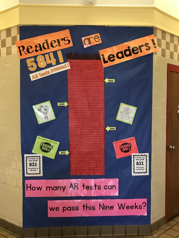 Readers are Leaders poster