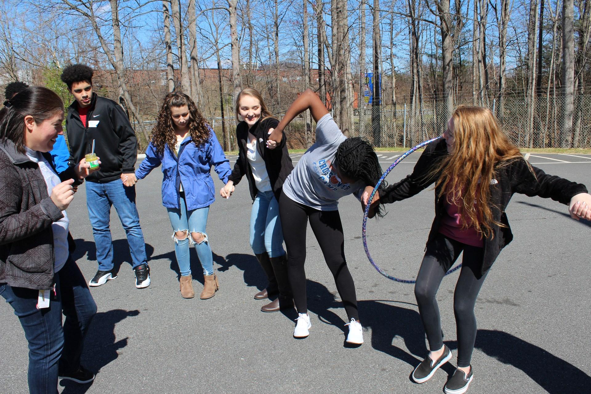 Fun with Hula Hoops