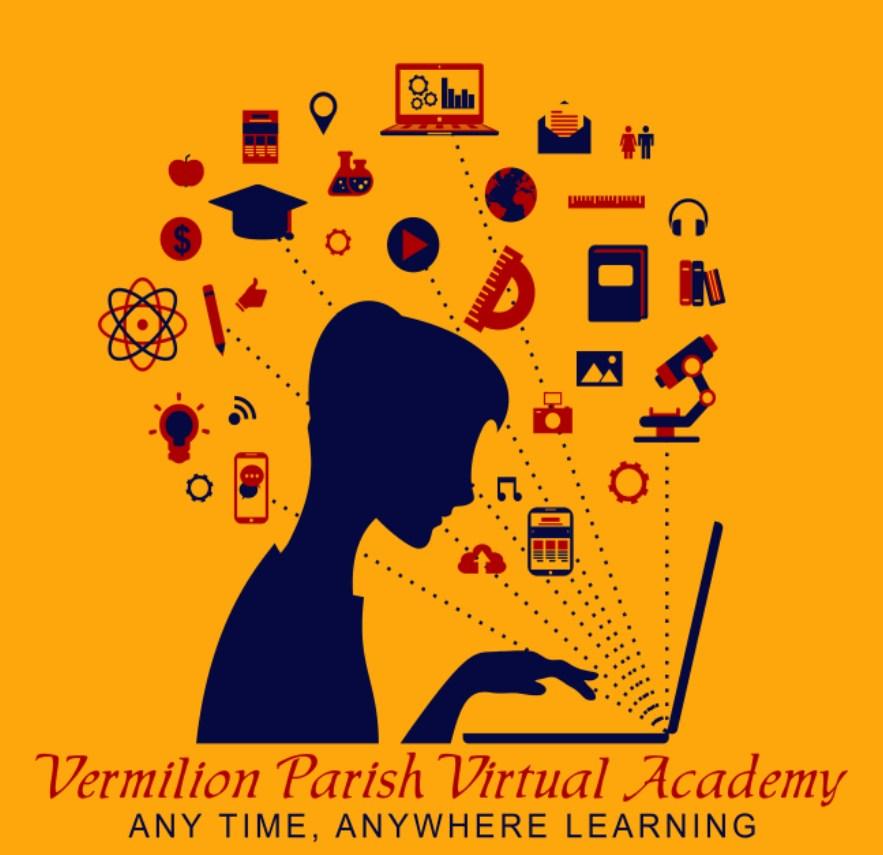 Vermilion Parish Virtual Academy Graphic