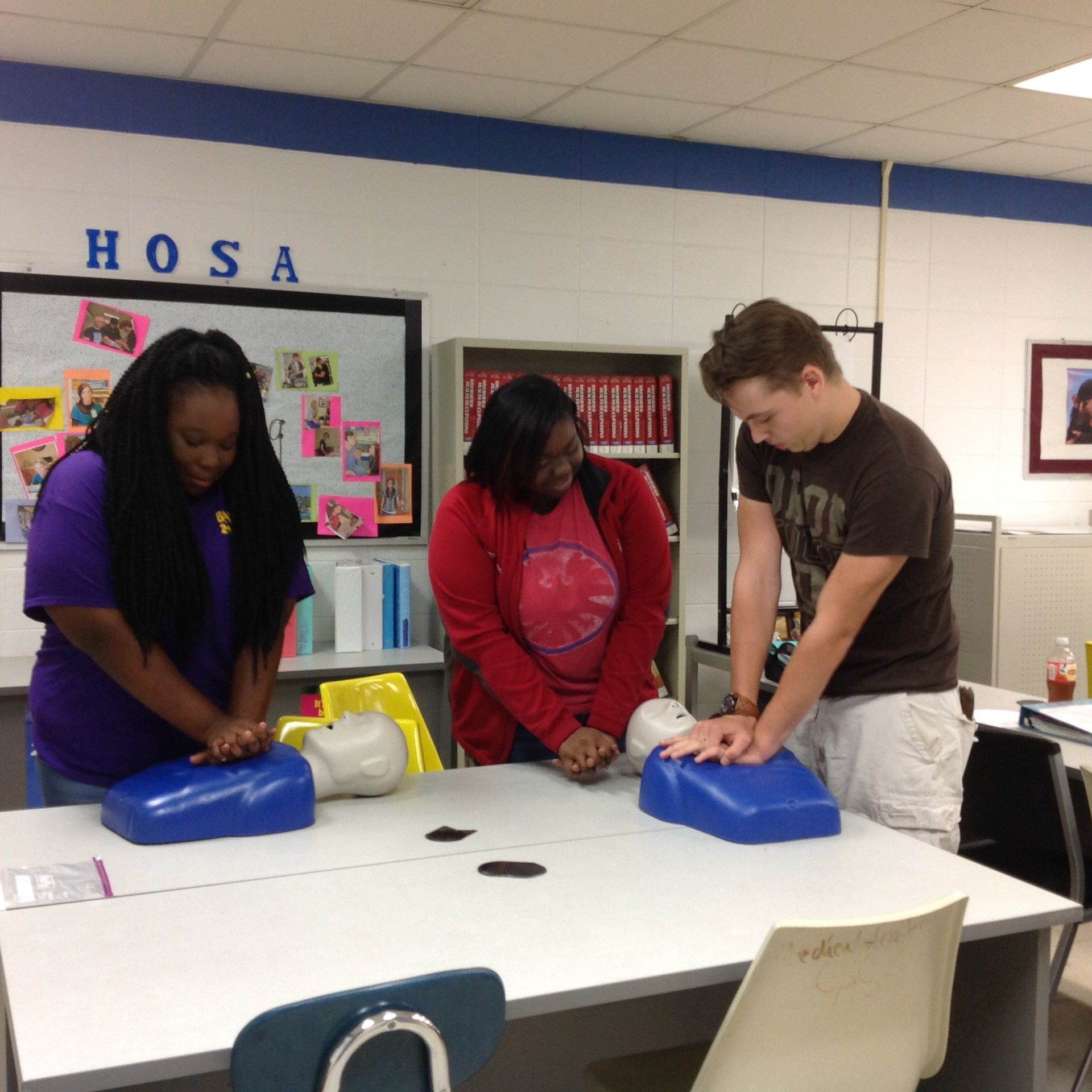 HOSA in the lab