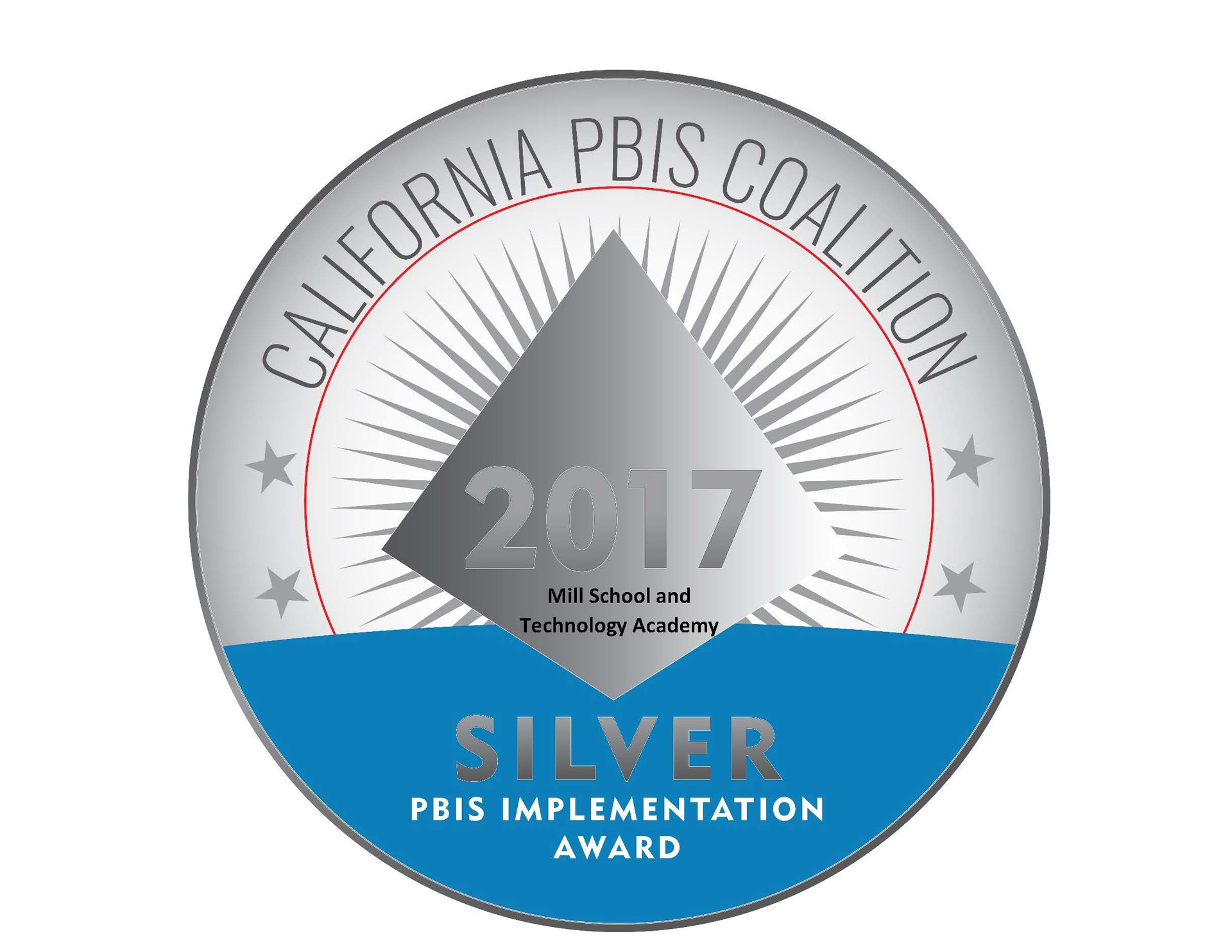 Mill PBIS Silver Award