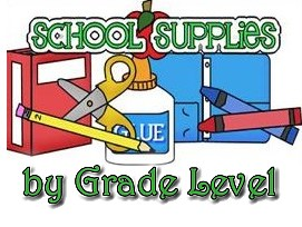 Supply Lists by Grade Level