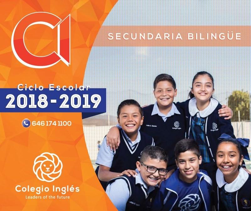 Secundaria bilingüe ciclo 2018-2019 Featured Photo