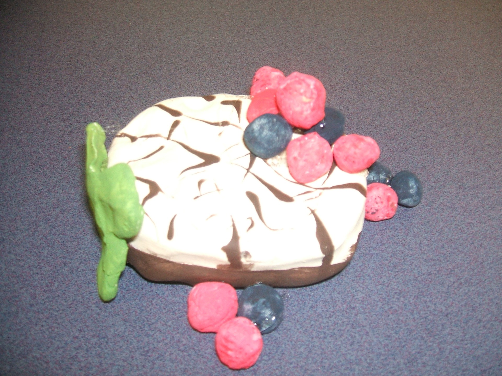 5th Grade Clay Food based on the art of Claes Oldenburg