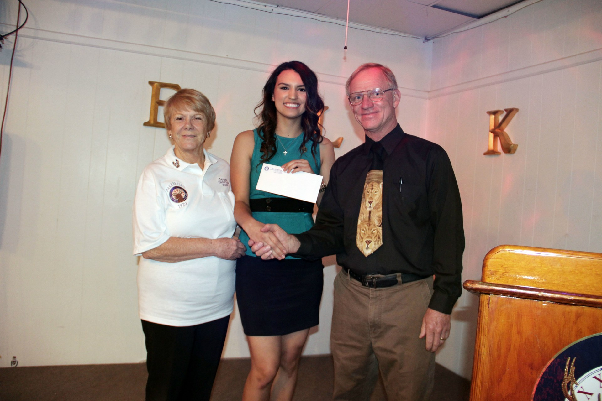 Highest price Elks Lodge Scholarship recipient