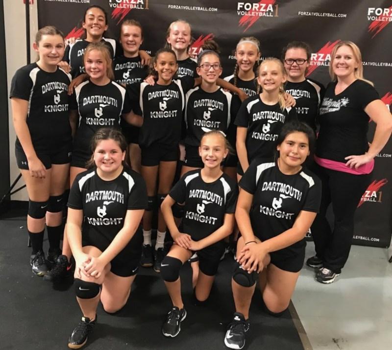 Dartmouth Girls Volleyball Team Wins Ontario Tournament