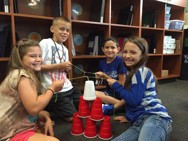 4th Graders Hard at Work Thumbnail Image