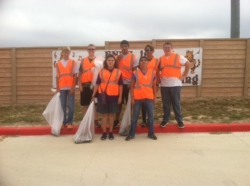 Cadets Campus Cleanup FNES Sep 20 Small Group.jpg