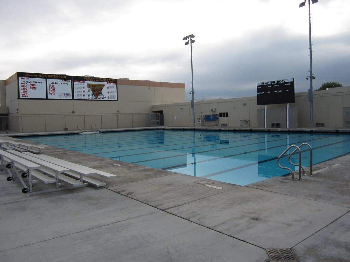 Hemet High School New Swimming Pool