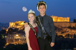 Hemet HS Homecoming King and Queen.