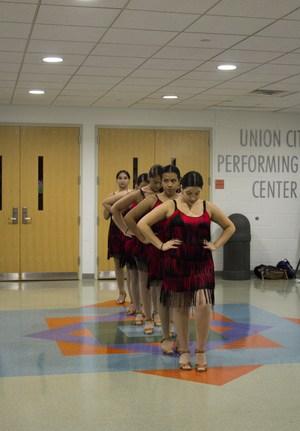 UCHS dancers