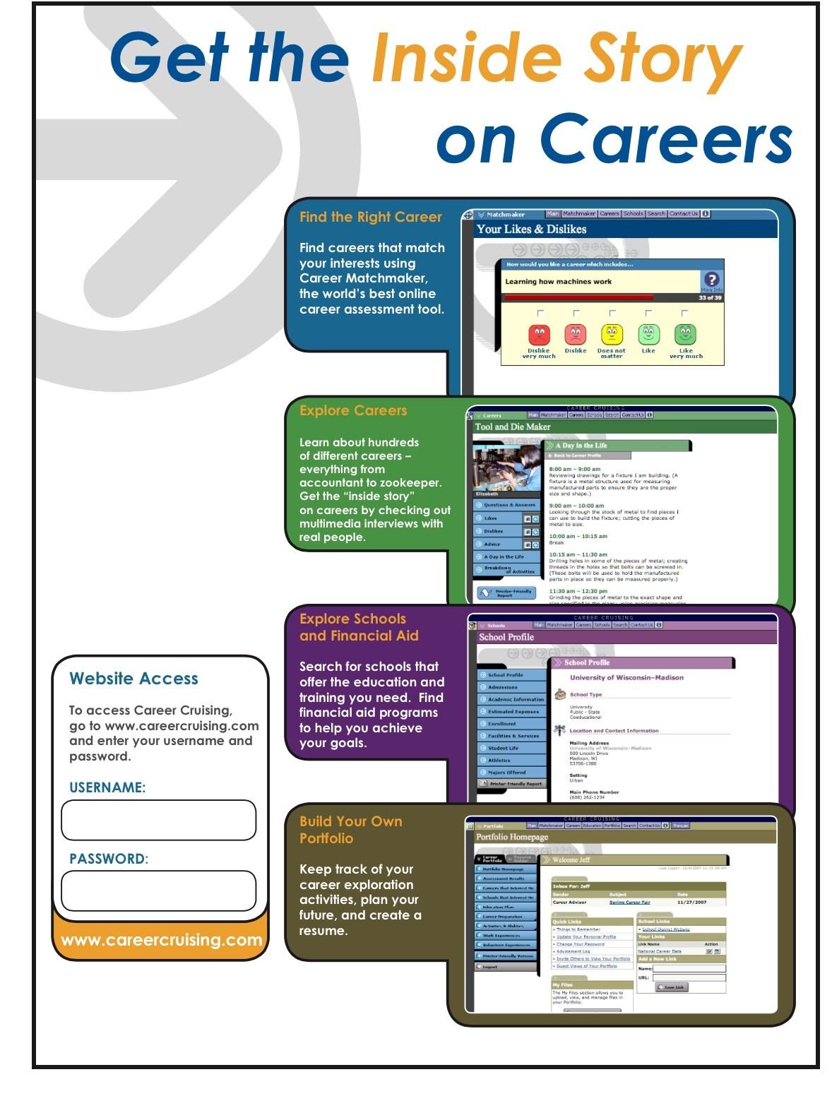 career cruising career counseling alan b shepard high school career cruising resume evaluation