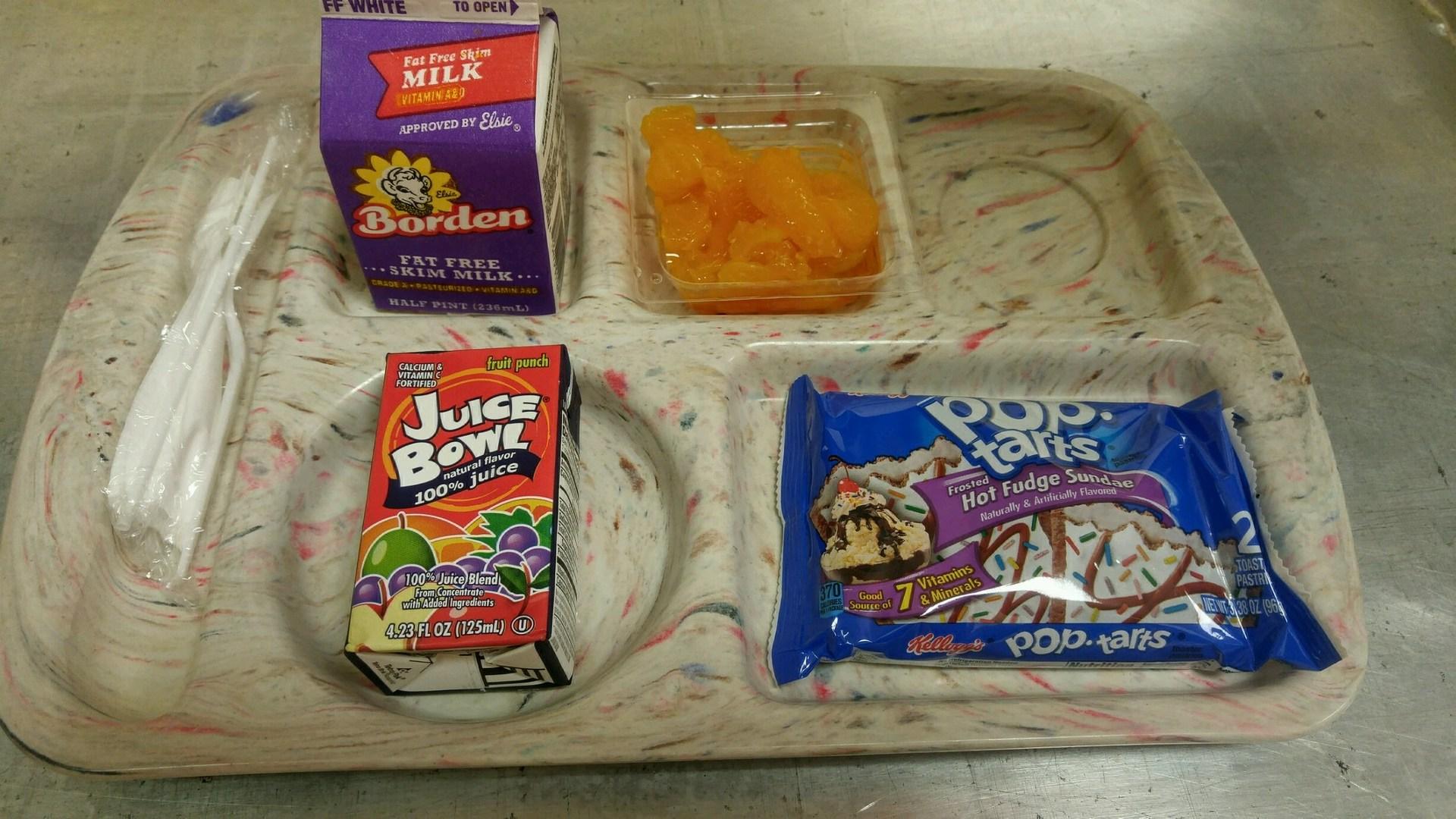 poptarts breakfast tray