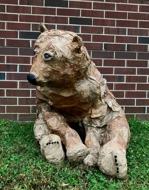 sculpture of a bear