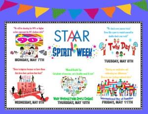STAAR Spirit Week Advertisement Snipit.PNG