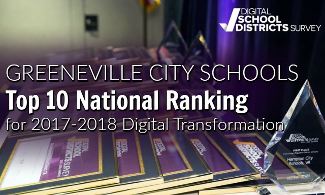 Top 10 National Ranking 2017-18 Digital Transformation