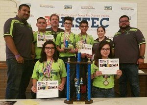 Robo Rangers win at HESTEC