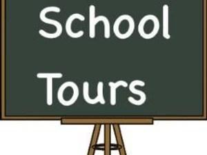 School Tour Sign