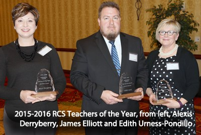 Teachers of the Year, 2015-2016