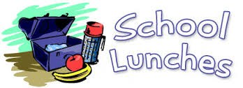 School Lunch with lunch box