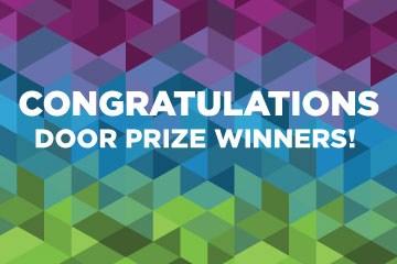 Congratulations Door Prize Winners
