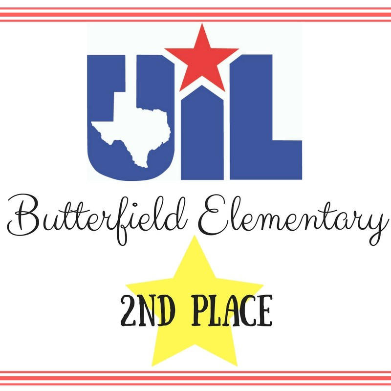 BES 2nd place at UIL