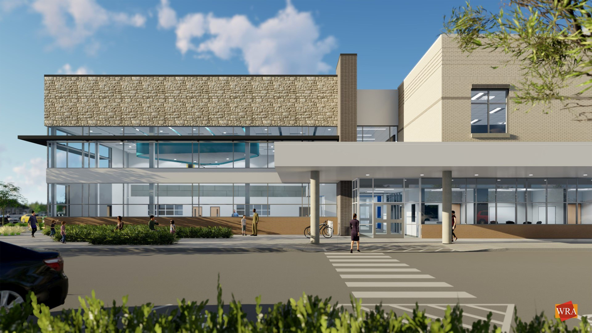 New Elementary School Elevation