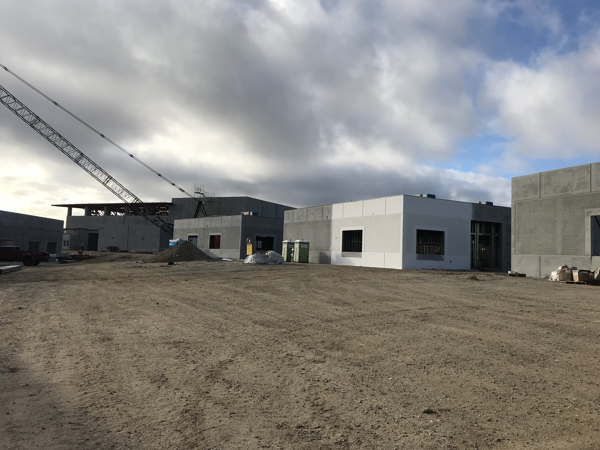 Castaic High School construction update January 25, 2018