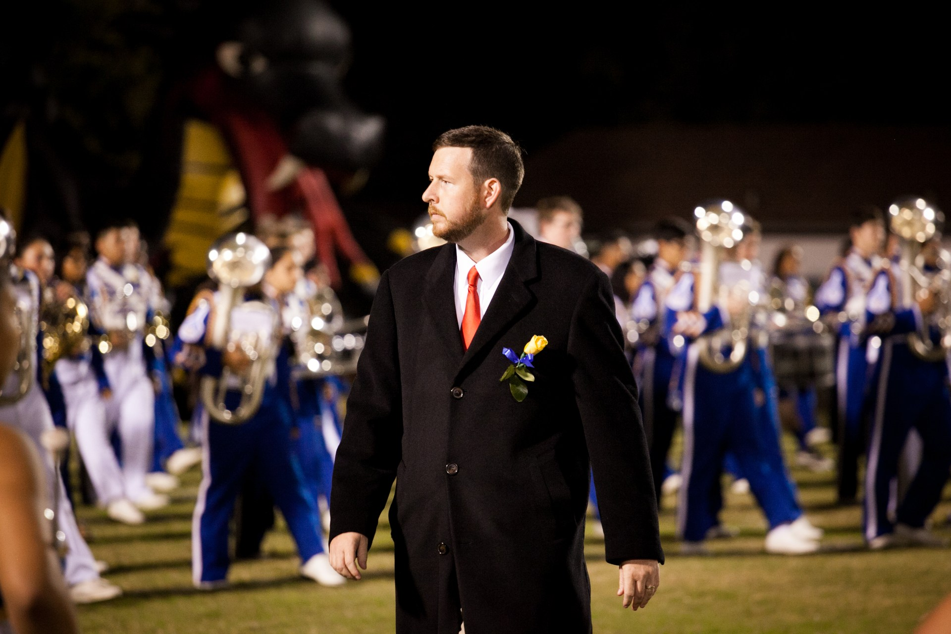 Band Director, Donnie Barrier