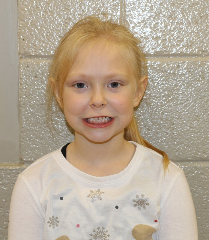 Zoey Beeghly - Elementary Student of the Month Thumbnail Image