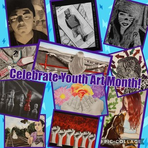 Celebrate Youth Art Month!