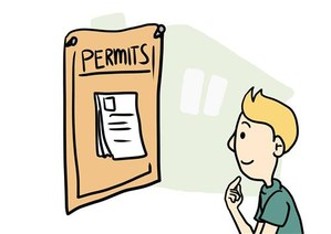 Work Permit Graphic