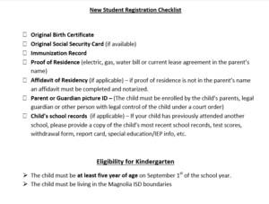 Kindergarten New Student Checklist (1).PNG