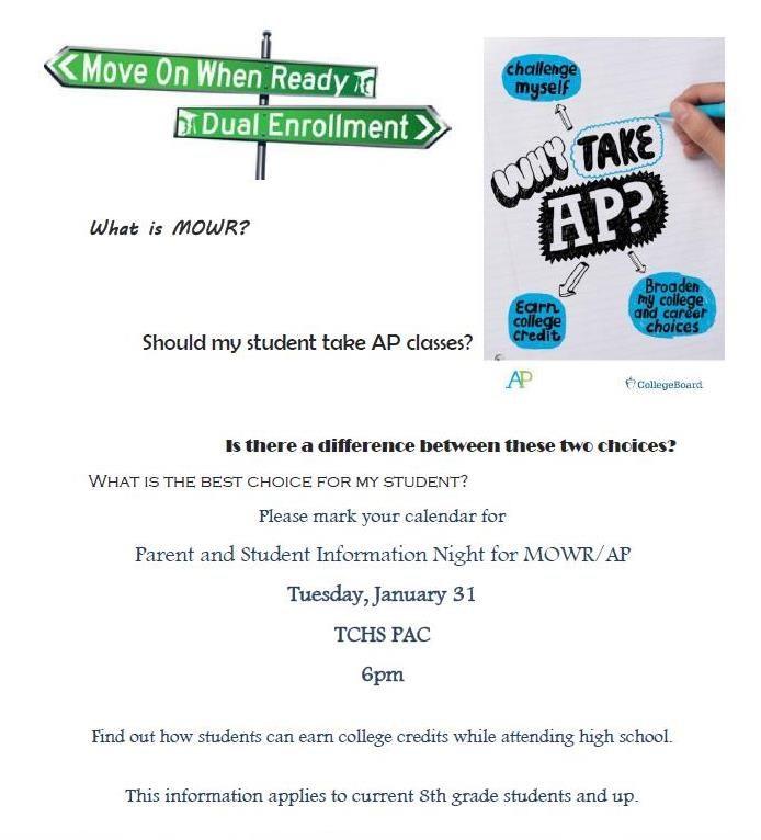 MOWR/AP Parent Information Meeting Featured Photo