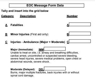 WCR EOC Form