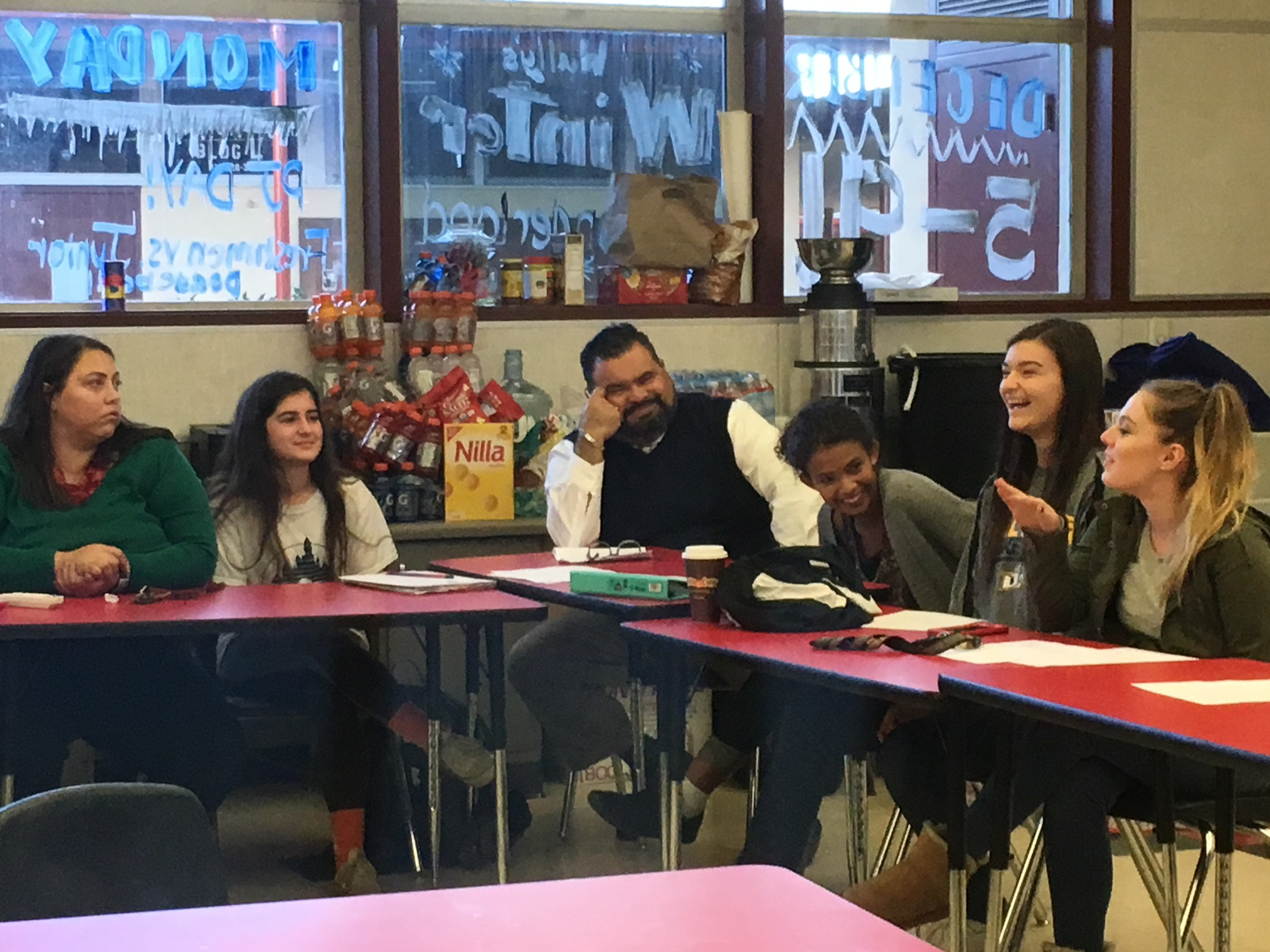 CUHSD Superintendent Sits Down with Student Leaders at ASB Presidents' Council Meeting
