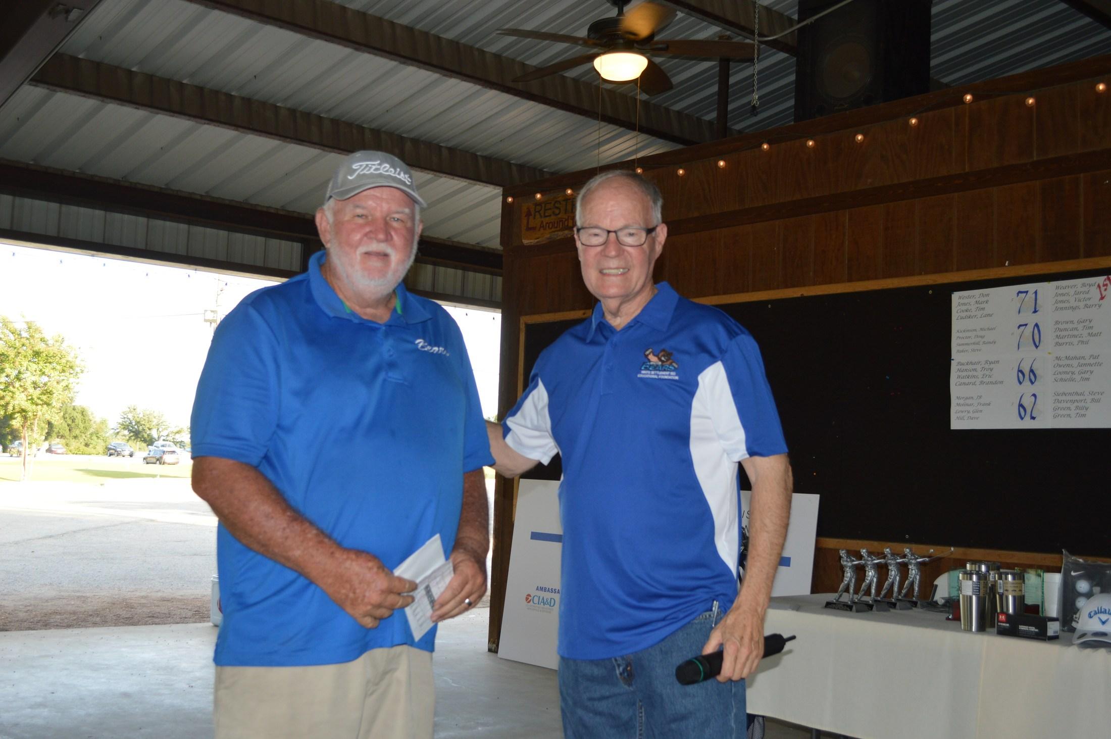 Golf Tournament: Awards