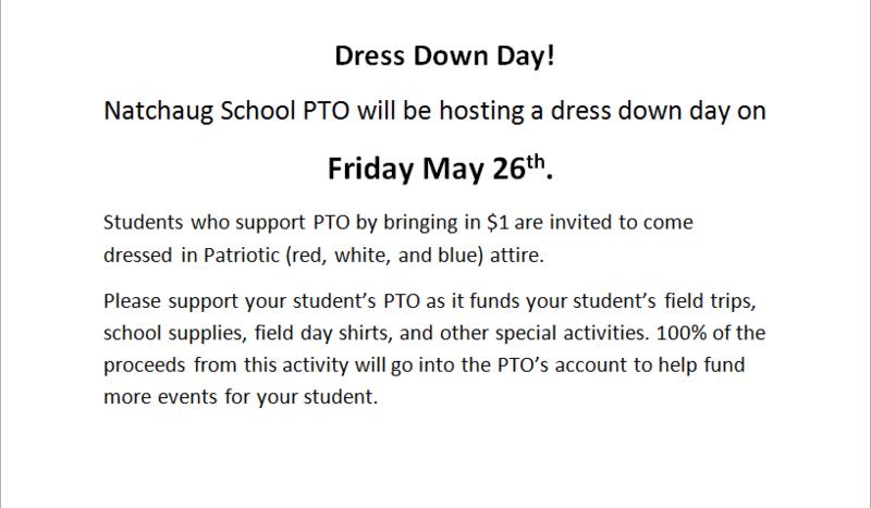 Dress Down Day (NAT) Thumbnail Image