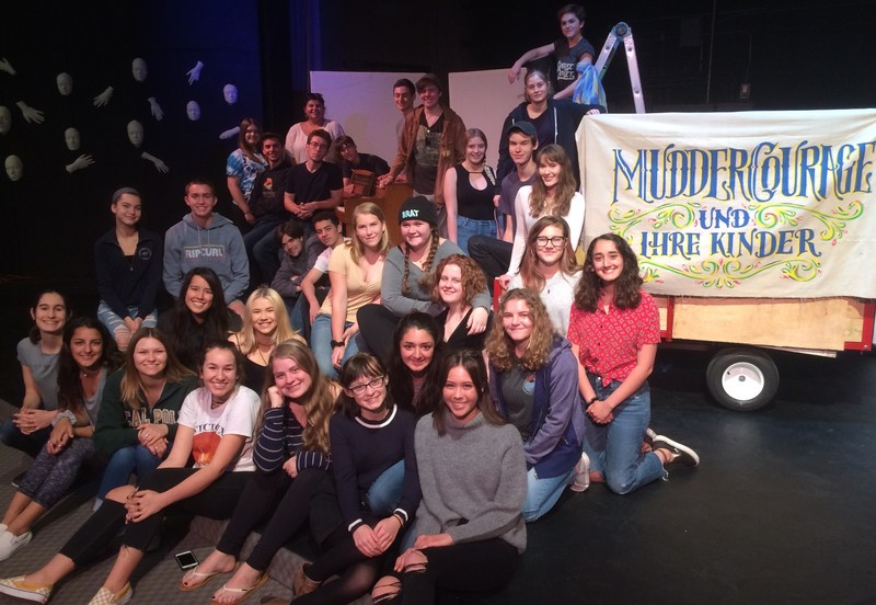 SYHS Theatre Group Presents Mother Courage and Her Children Featured Photo