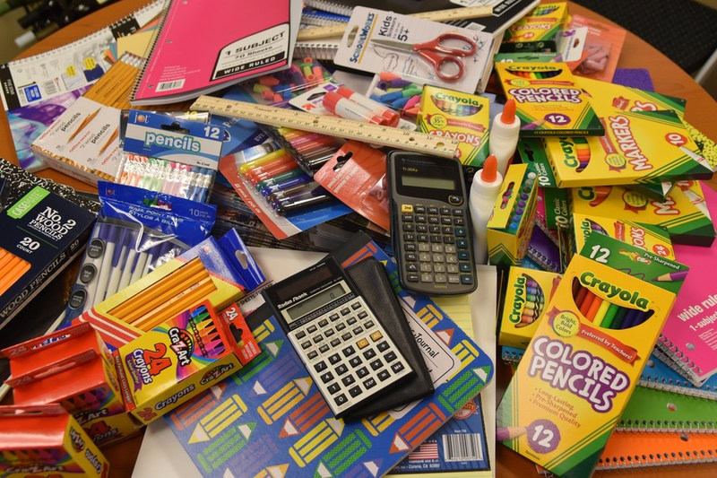 2018-19 School Supply Lists Thumbnail Image