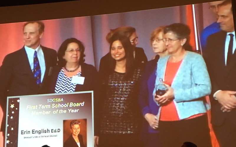 Dr. English receives award