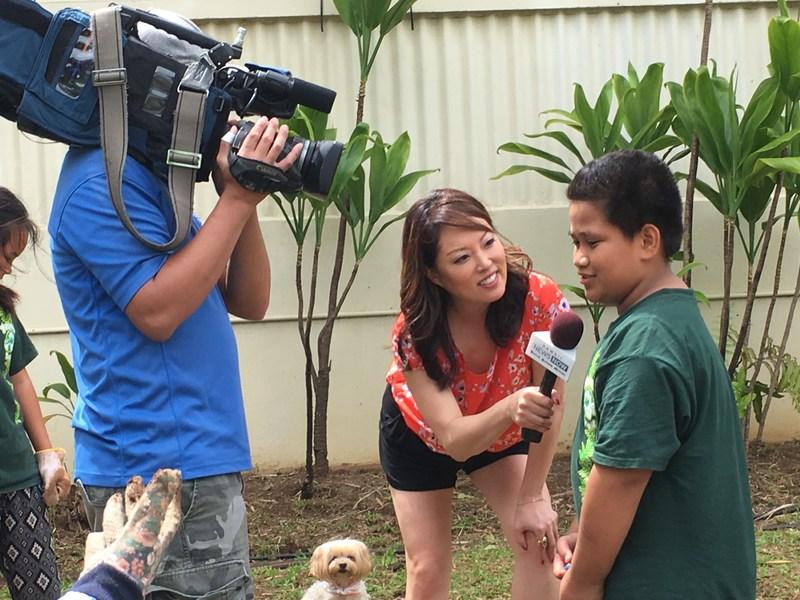 Hawaii News Now Sunrise Visits Palolo Elementary! Thumbnail Image