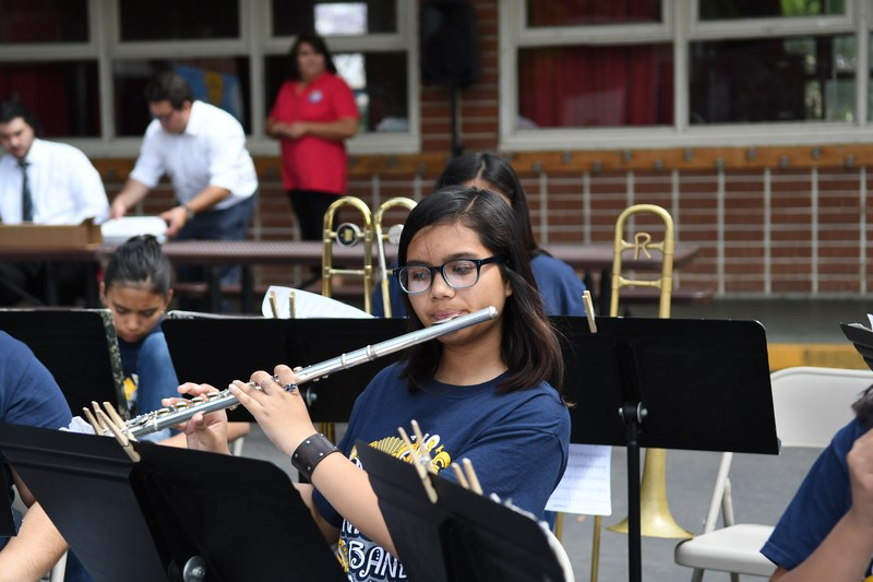 LNMS STEAM Band performs Featured Photo