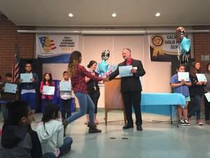 English Learner Reclassification Celebration