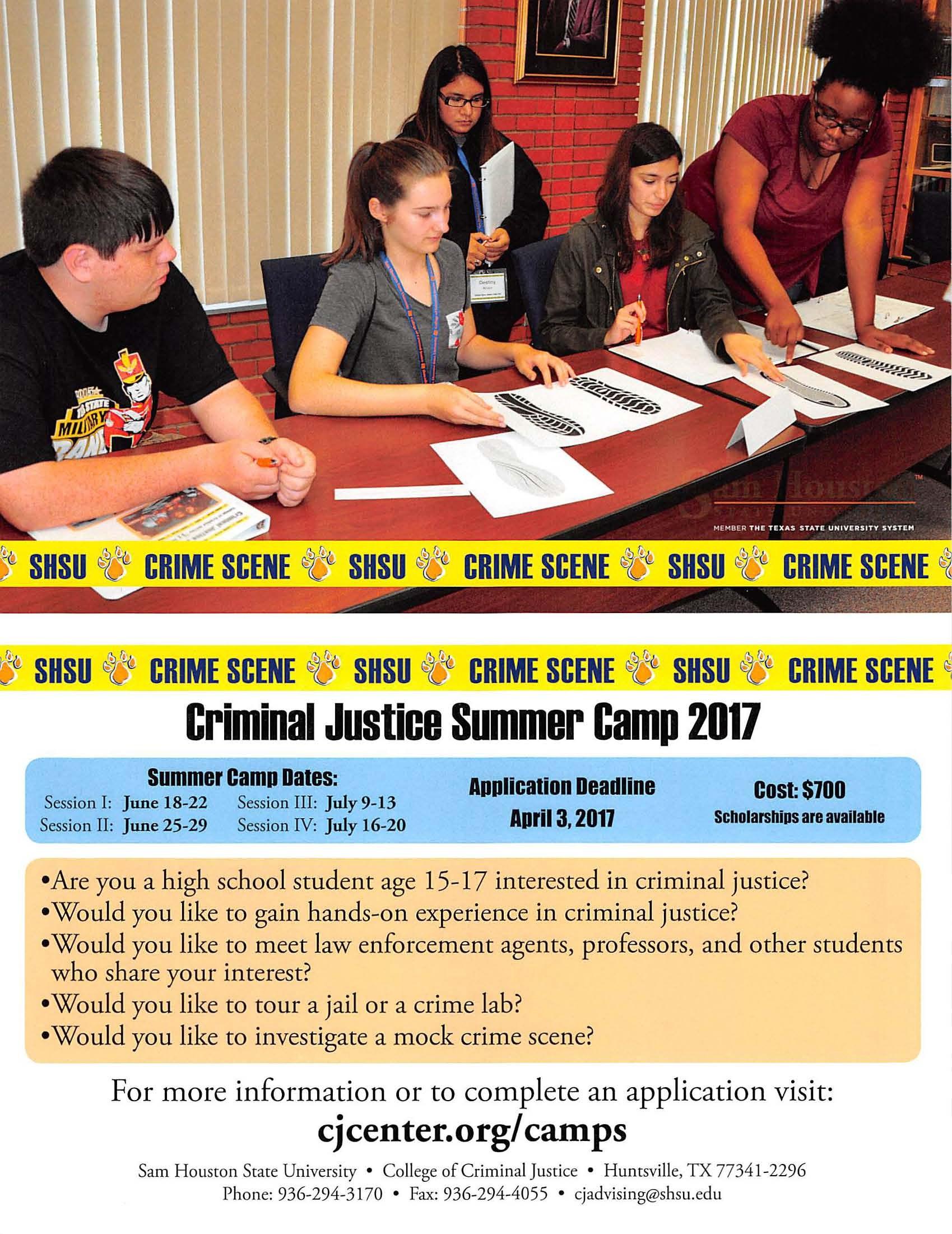 interest in criminal justice essay