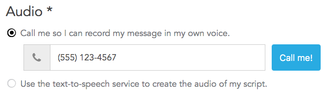 Send voice messages - Edlio Help Center